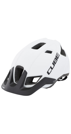 Cube CMPT kypärä , valkoinen